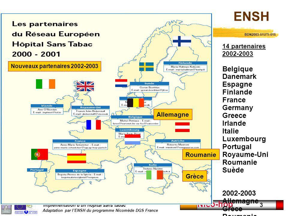 Nouveaux partenaires 2002-2003
