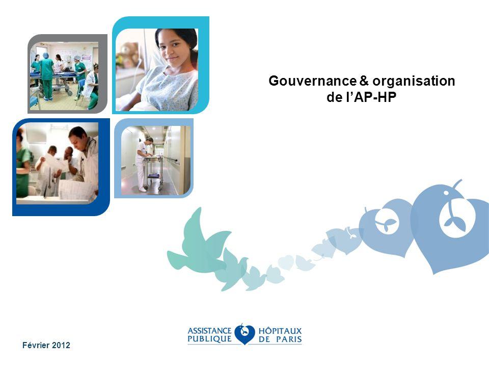 Gouvernance & organisation de l'AP-HP