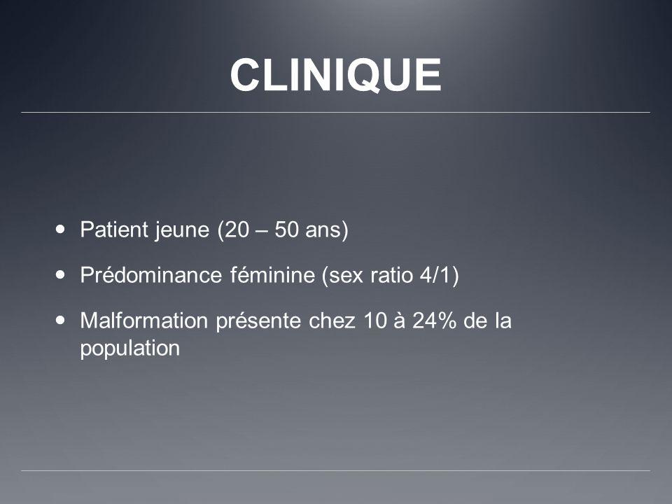 CLINIQUE Patient jeune (20 – 50 ans)