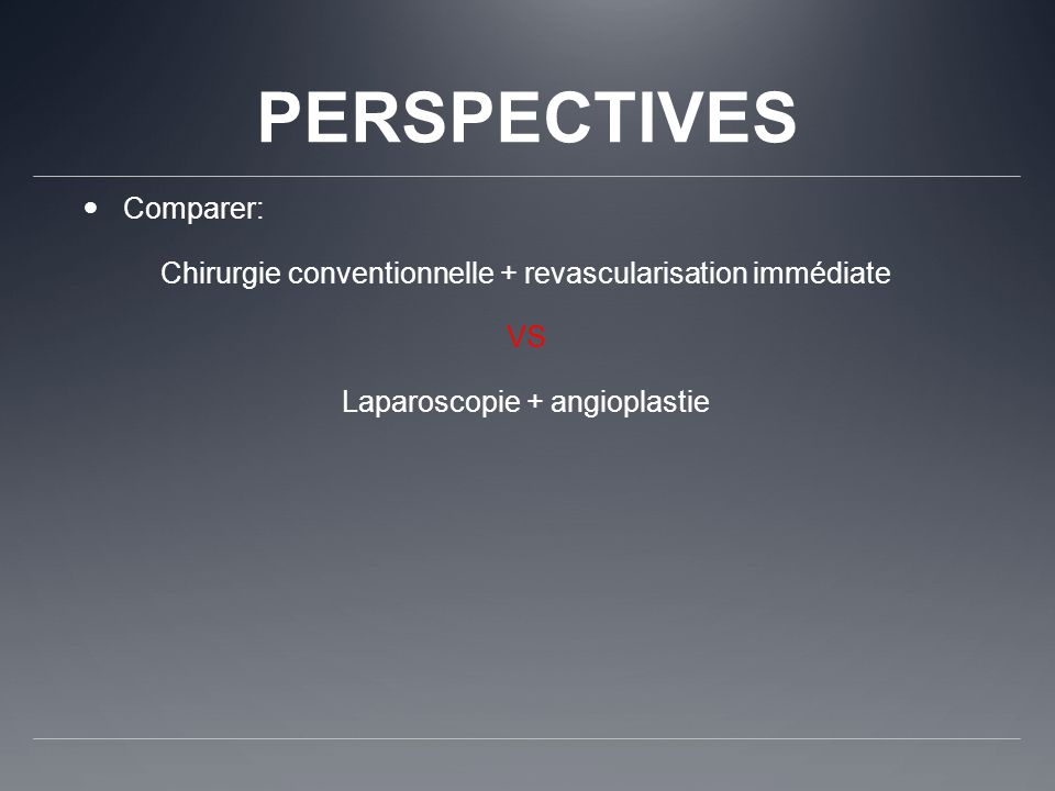 PERSPECTIVES Comparer:
