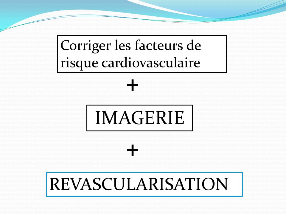 + + IMAGERIE REVASCULARISATION