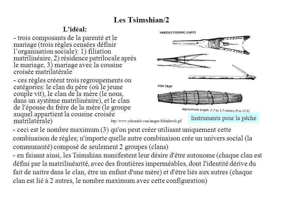 Les Tsimshian/2 L idéal: