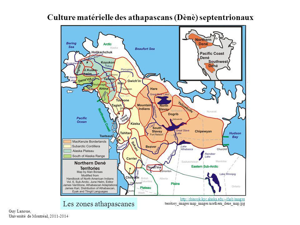Culture matérielle des athapascans (Dènè) septentrionaux