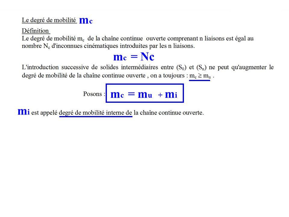 mc mc = Nc mc = mu + mi mi