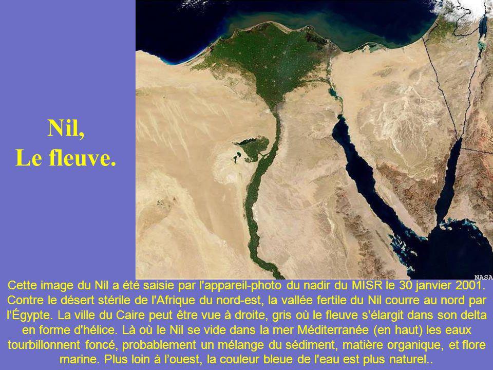 Nil, Le fleuve.
