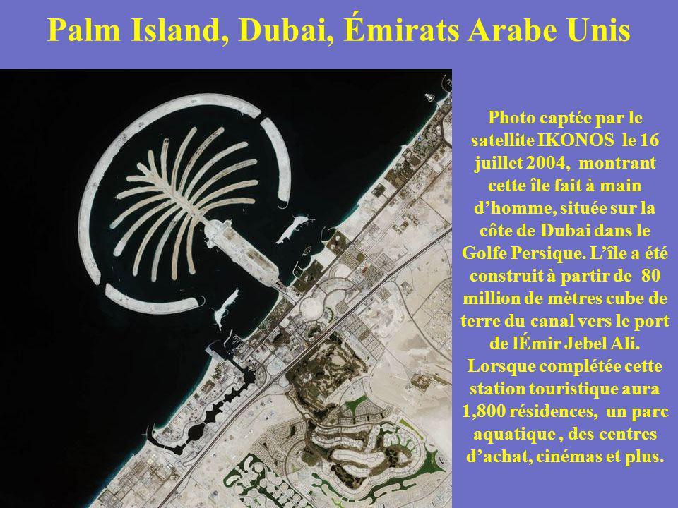 Palm Island, Dubai, Émirats Arabe Unis