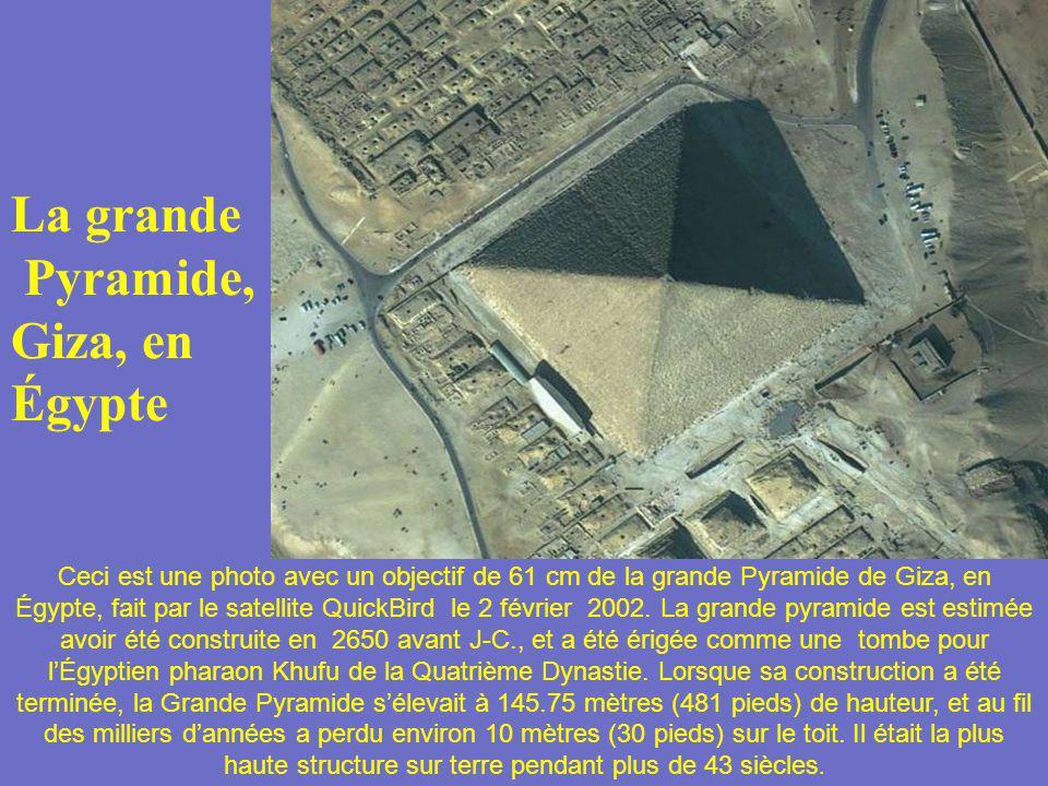 La grande Pyramide, Giza, en Égypte