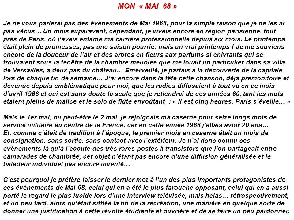 MON « MAI 68 »