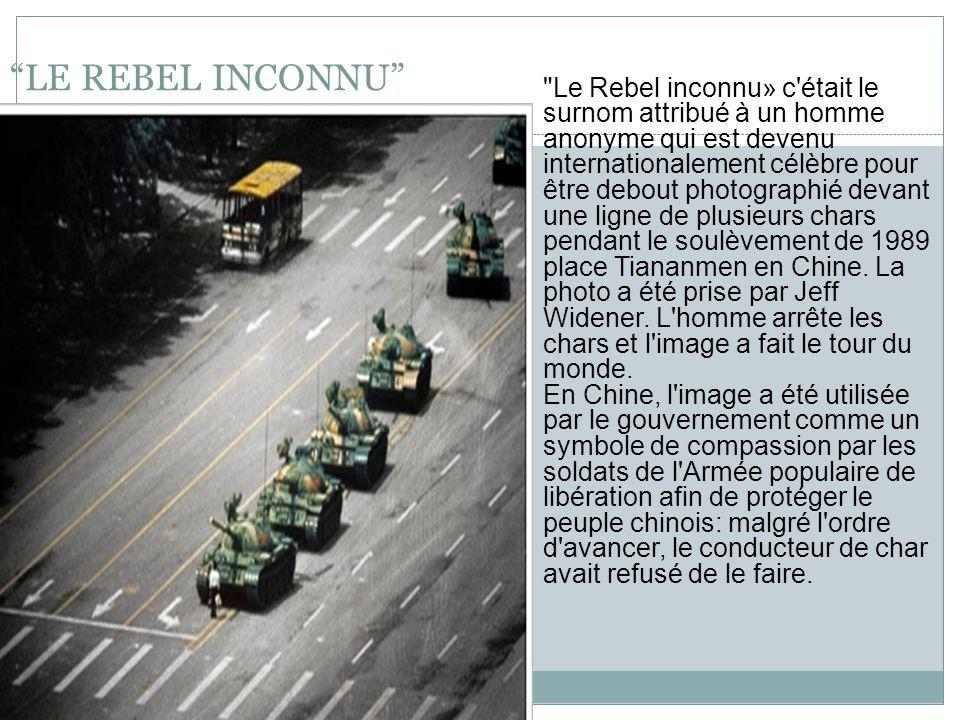 LE REBEL INCONNU