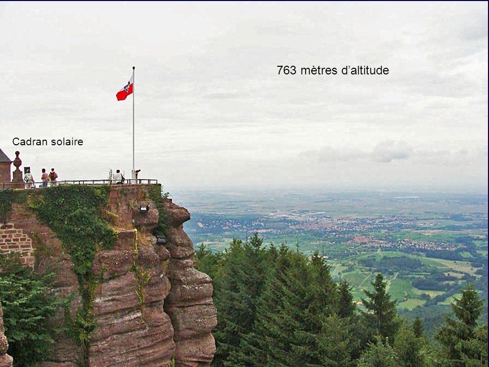 763 mètres d'altitude Cadran solaire