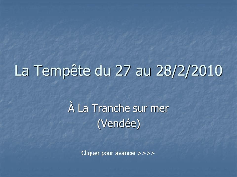 À La Tranche sur mer (Vendée)