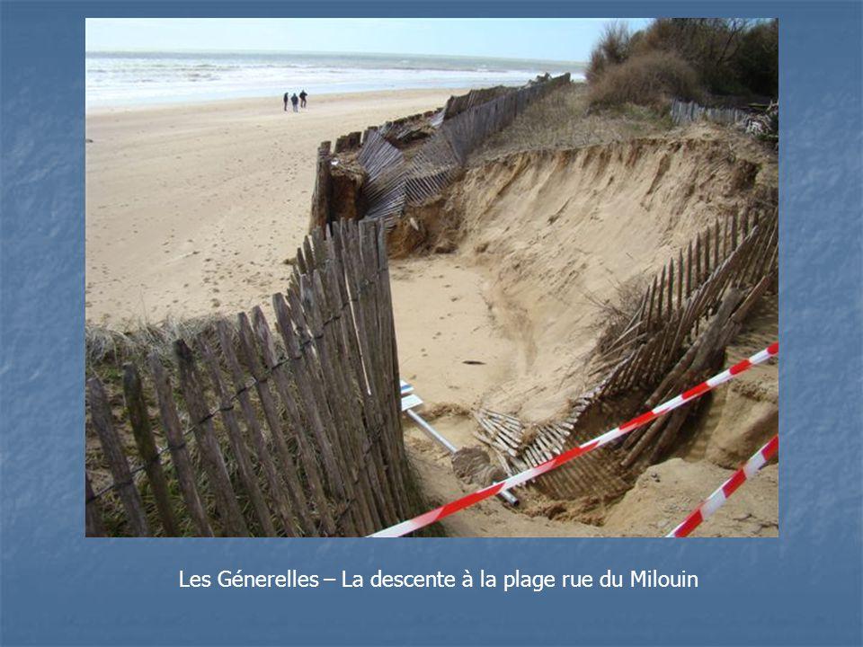 Les Génerelles – La descente à la plage rue du Milouin