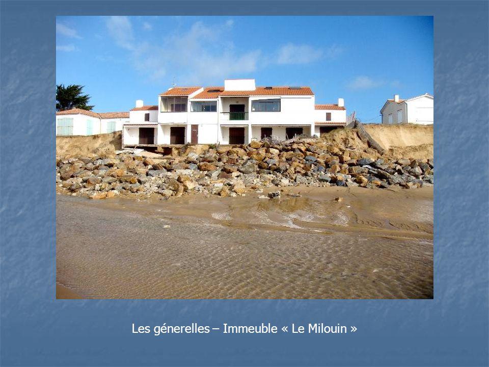 Les génerelles – Immeuble « Le Milouin »