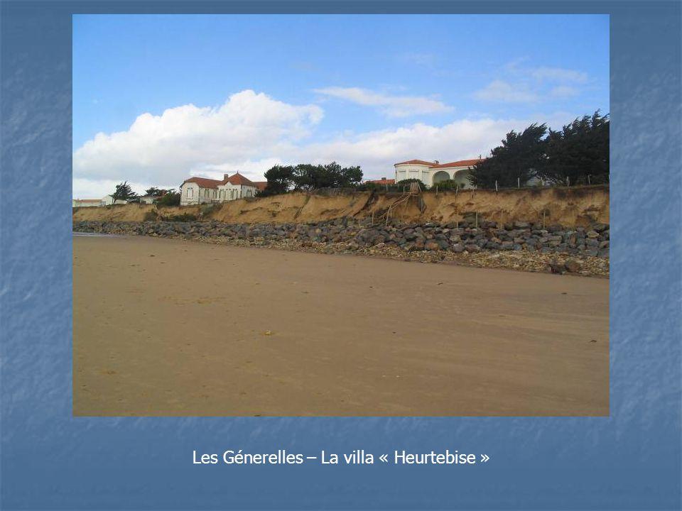Les Génerelles – La villa « Heurtebise »
