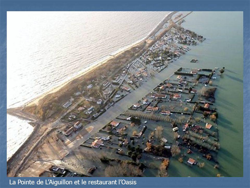 La Pointe de L'Aiguillon et le restaurant l'Oasis