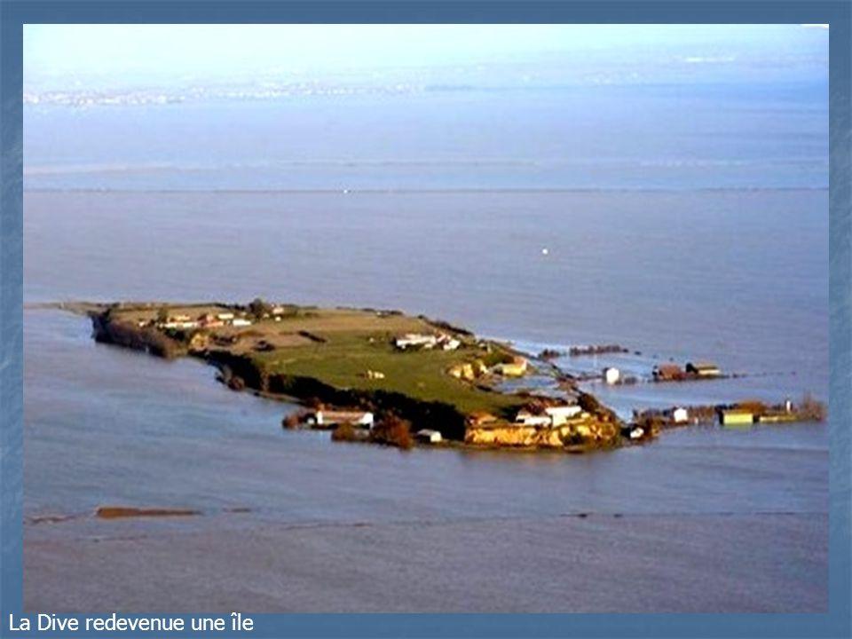 La Dive redevenue une île