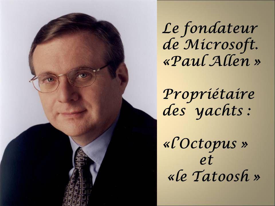 Le fondateur de Microsoft.
