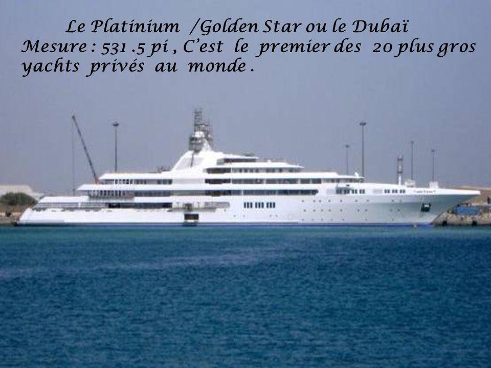 Le Platinium /Golden Star ou le Dubaï