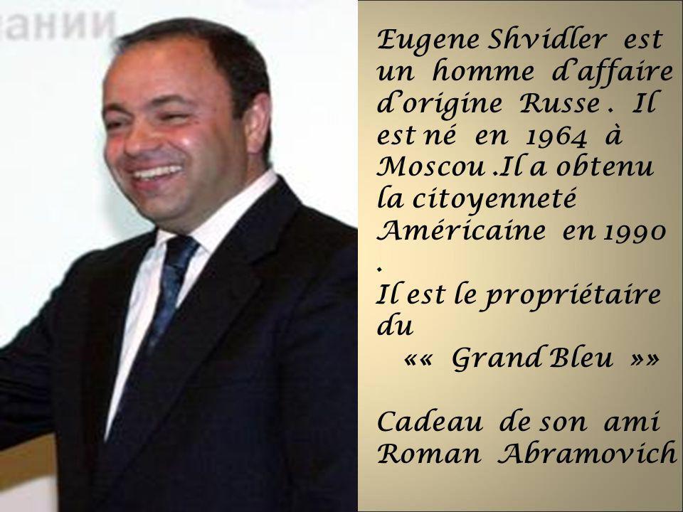 Eugene Shvidler est un homme d'affaire d'origine Russe