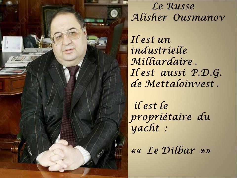Le Russe Alisher Ousmanov