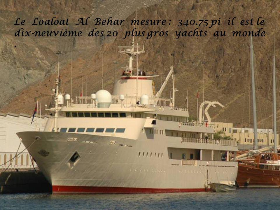 Le Loaloat Al Behar mesure : 340