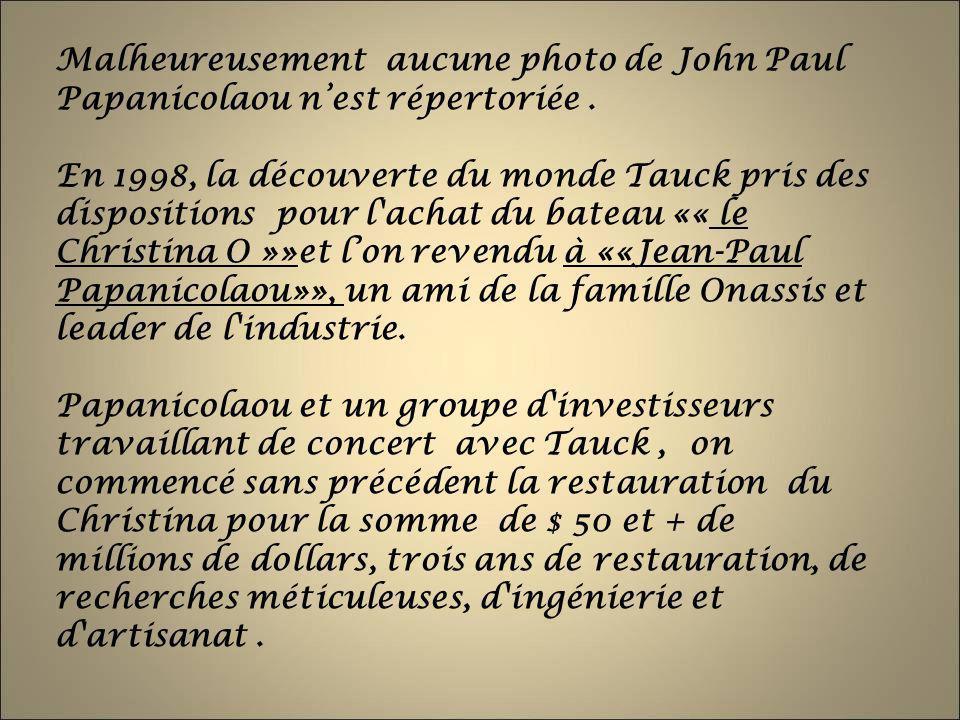 Malheureusement aucune photo de John Paul Papanicolaou n'est répertoriée .