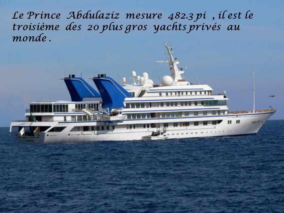 Le Prince Abdulaziz mesure 482