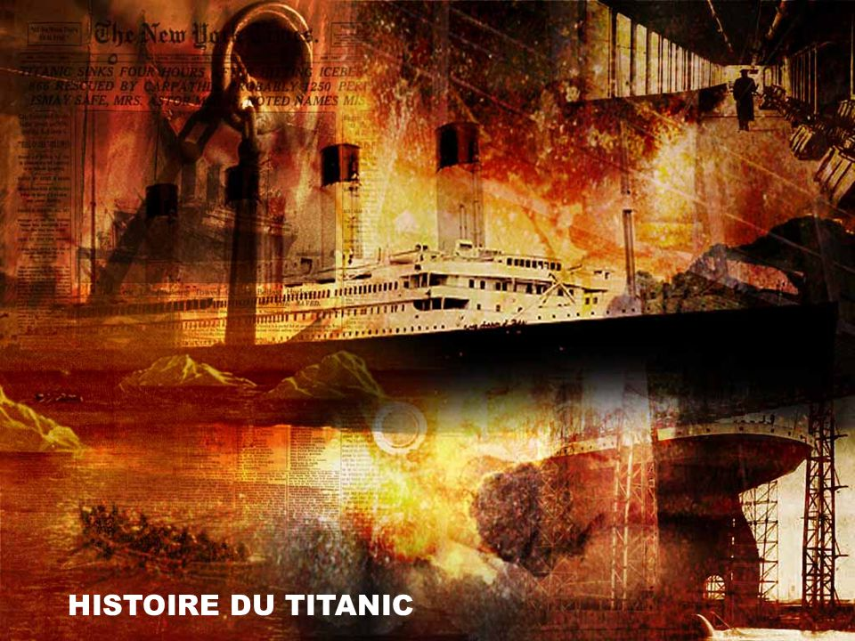 HISTOIRE DU TITANIC