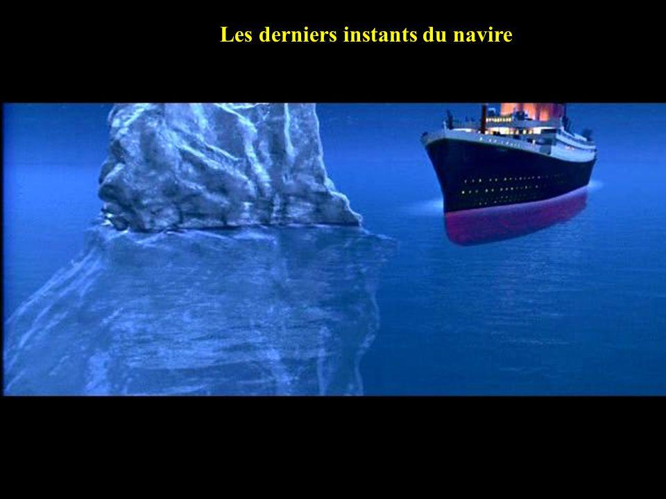Les derniers instants du navire Final moments Of Titanic……………..