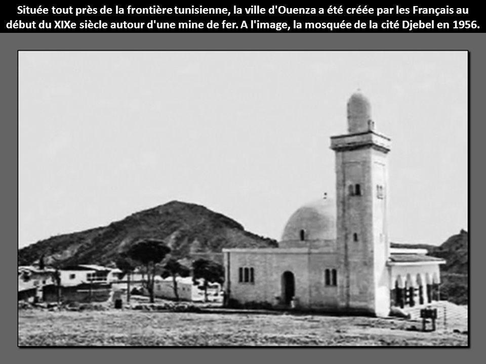 Située tout près de la frontière tunisienne, la ville d Ouenza a été créée par les Français au début du XIXe siècle autour d une mine de fer.