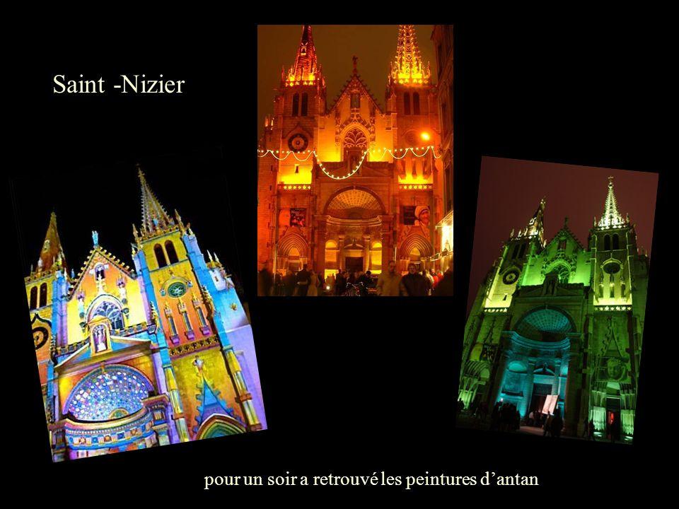 Saint -Nizier pour un soir a retrouvé les peintures d'antan