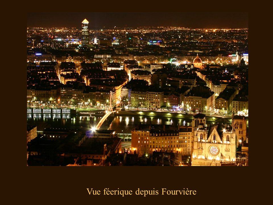 Vue féerique depuis Fourvière