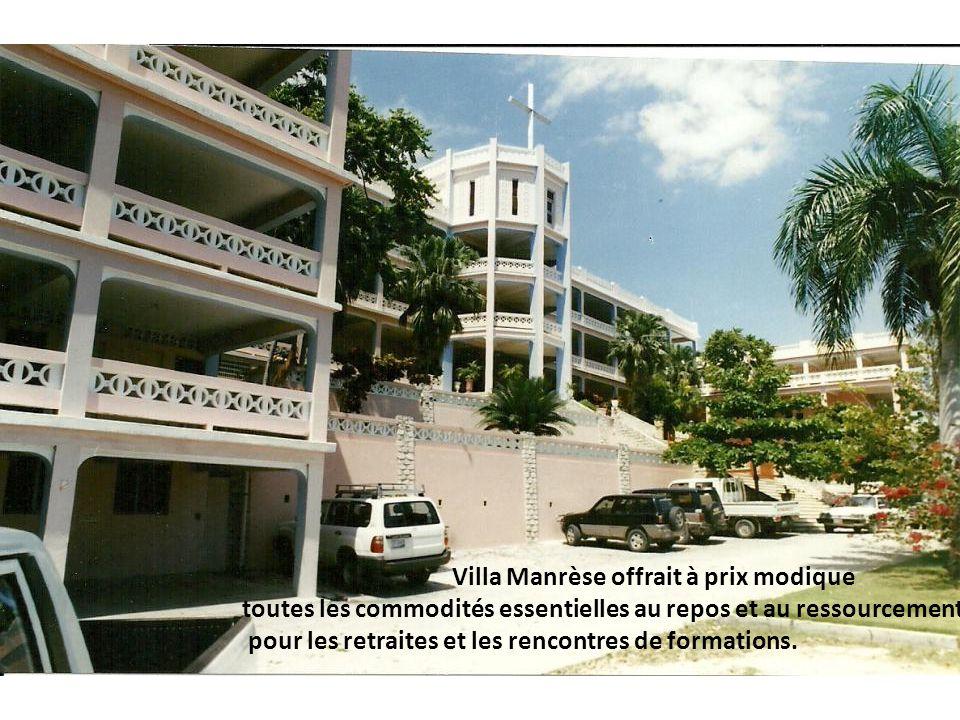 Villa Manrèse offrait à prix modique