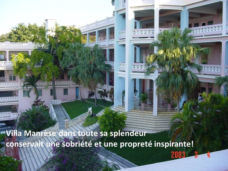 Villa Manrèse dans toute sa splendeur