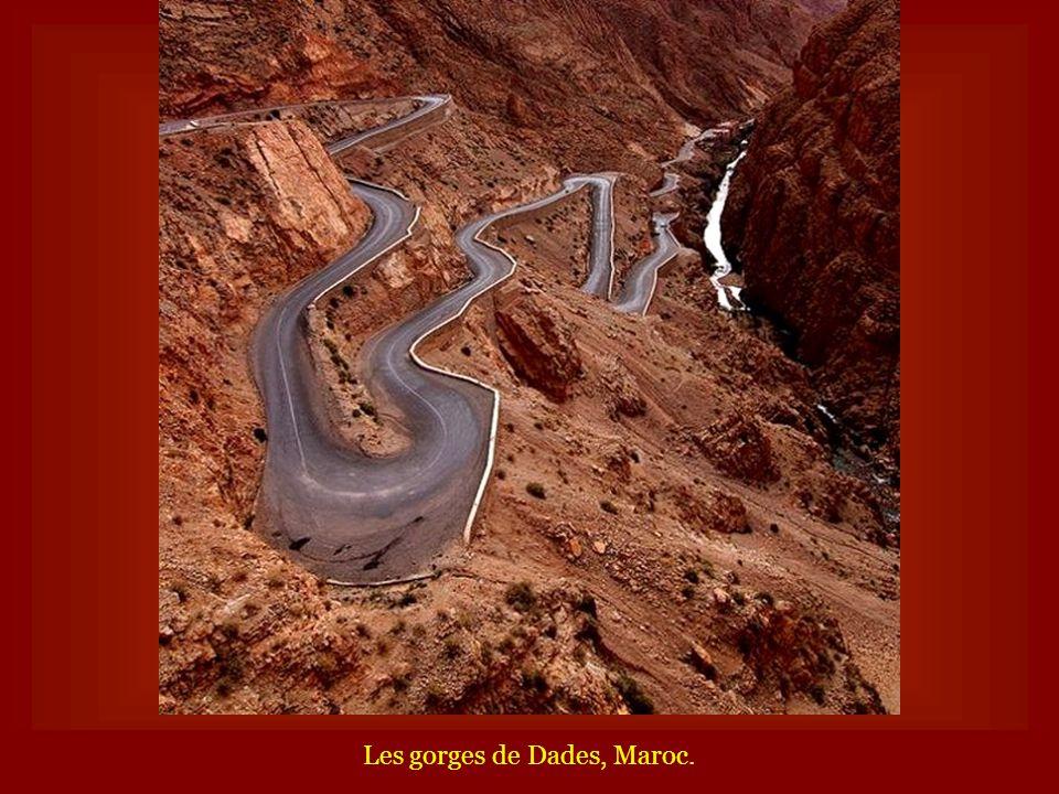Les gorges de Dades, Maroc.
