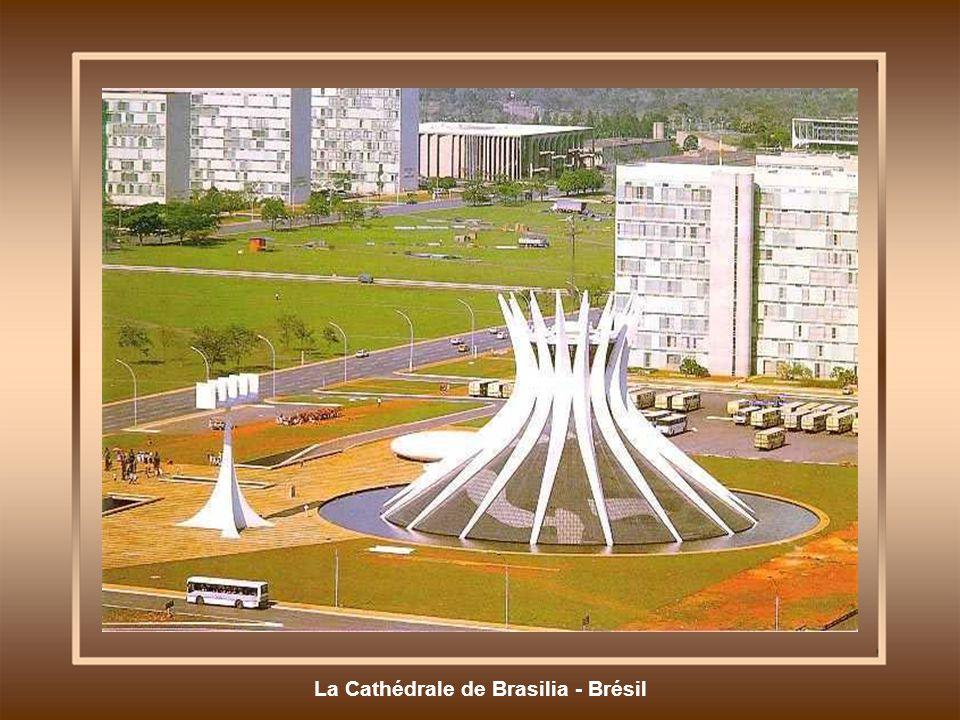 La Cathédrale de Brasilia - Brésil