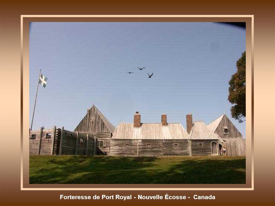 Forteresse de Port Royal - Nouvelle Écosse - Canada