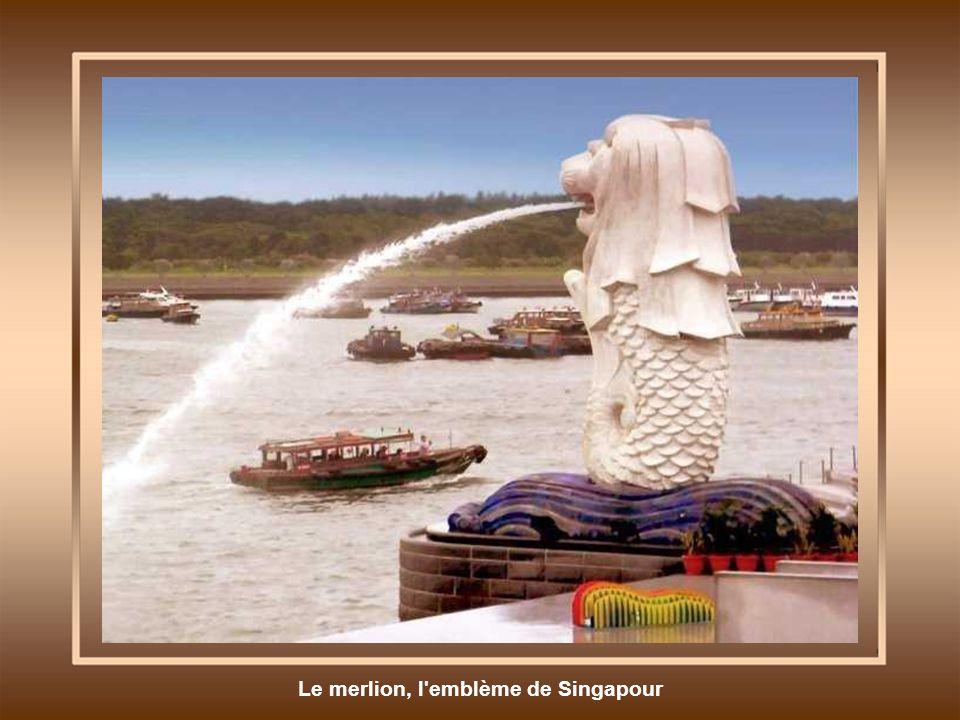 Le merlion, l emblème de Singapour