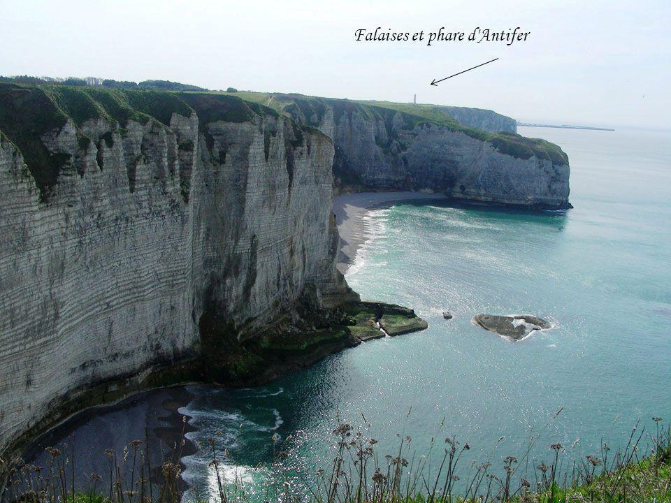 Falaises et phare d Antifer