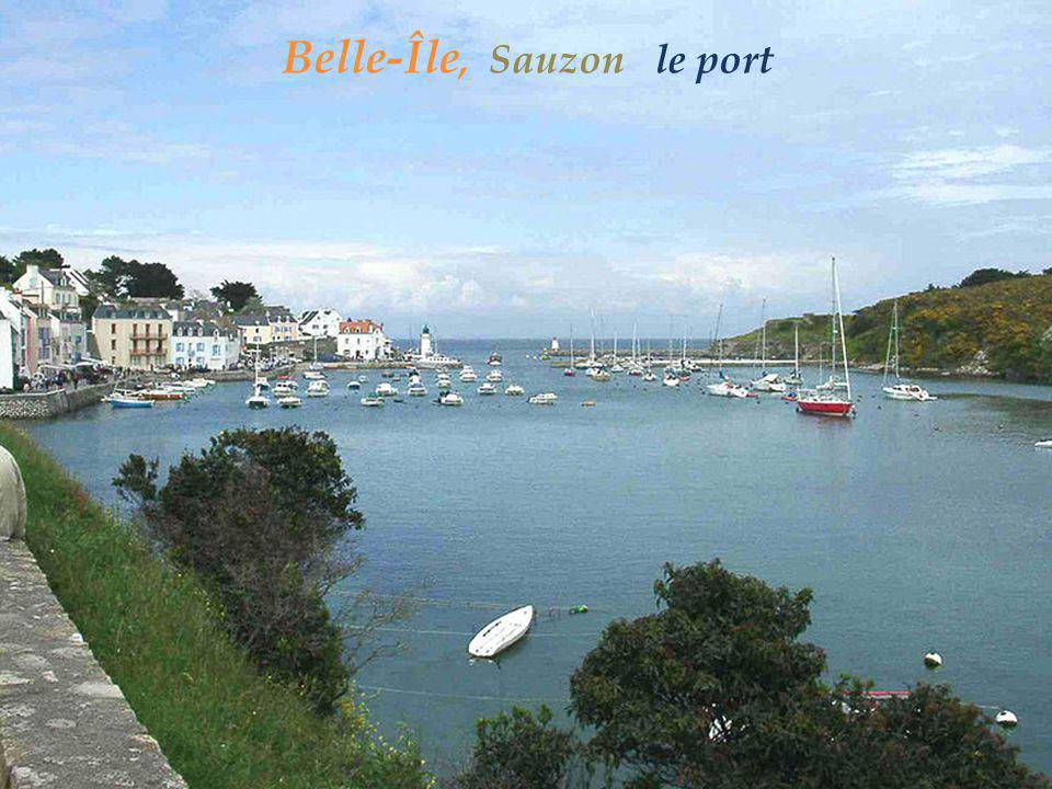 Belle-Île, Sauzon le port