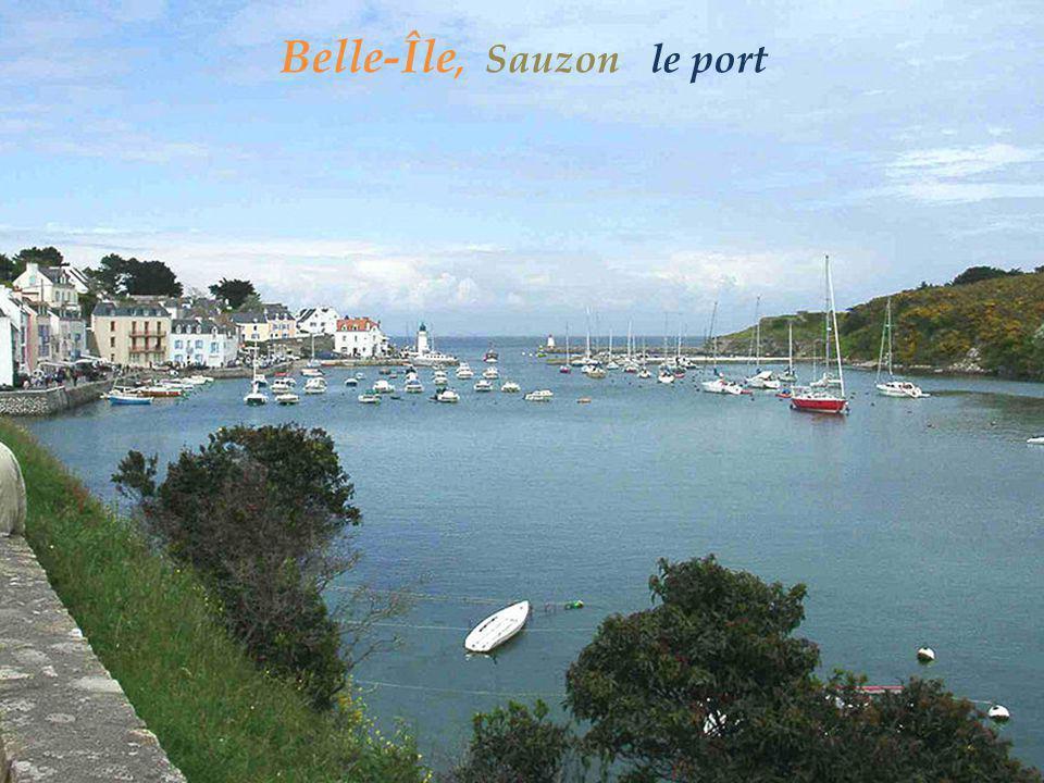 Belle-Île, Sauzon le port