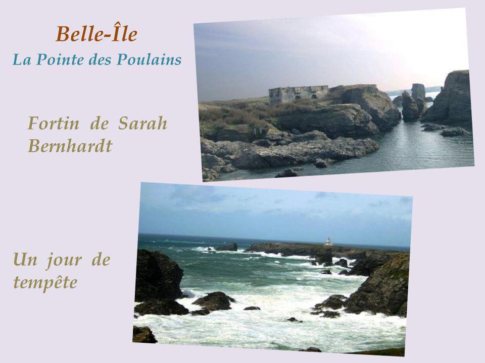 Belle-Île La Pointe des Poulains
