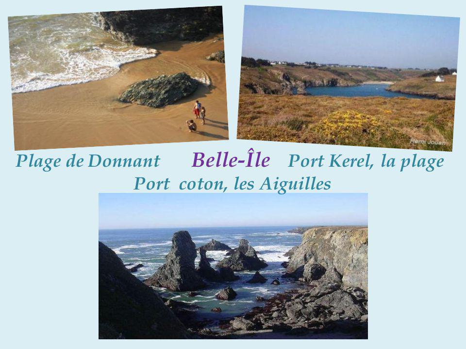 Plage de Donnant Belle-Île Port Kerel, la plage