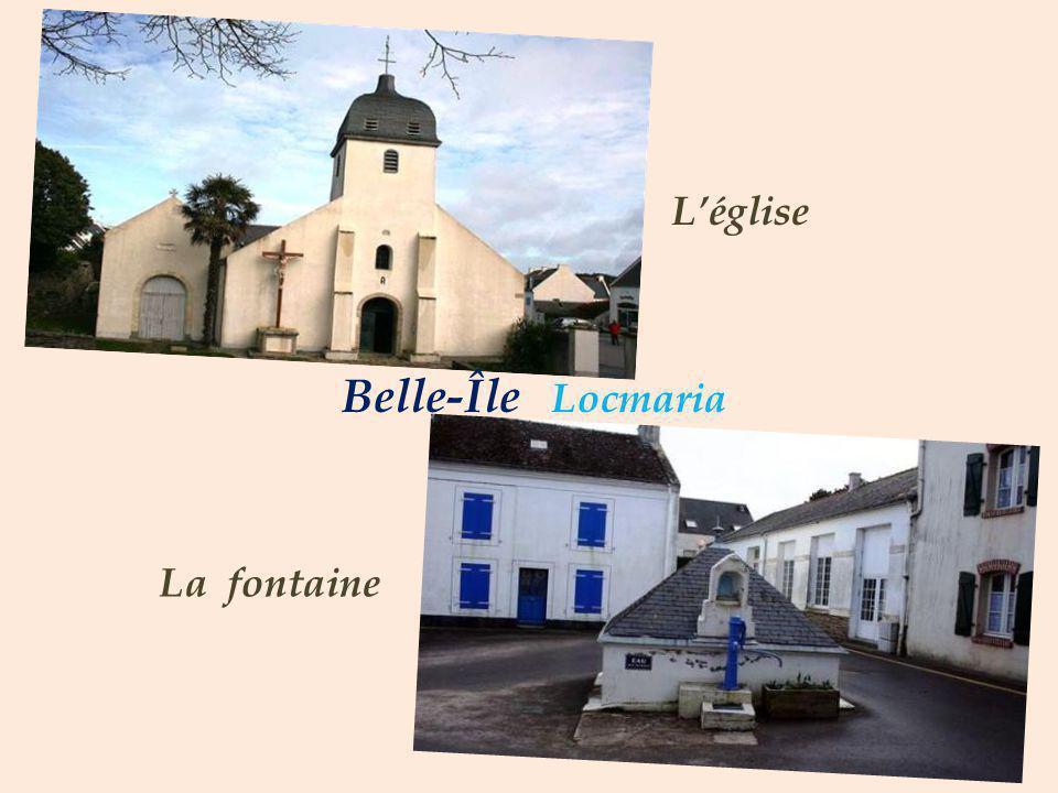 L'église Belle-Île Locmaria La fontaine