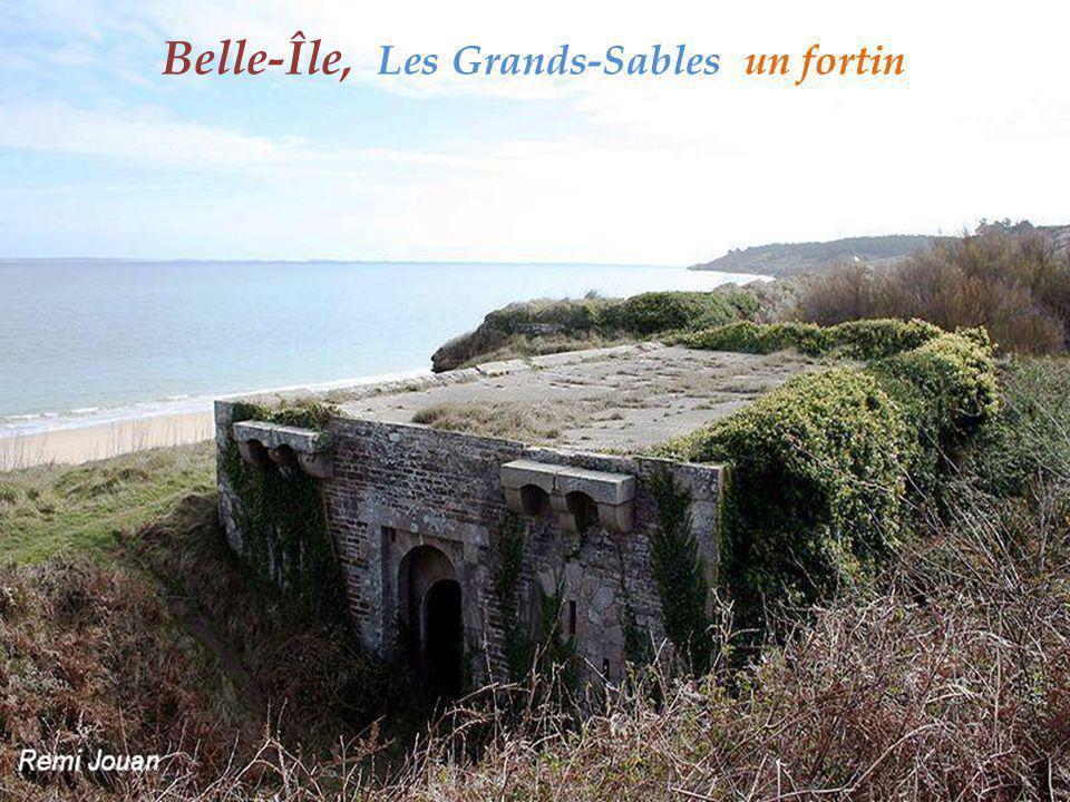 Belle-Île, Les Grands-Sables un fortin