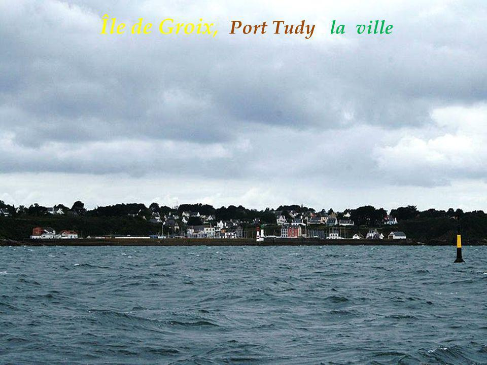 Île de Groix, Port Tudy la ville