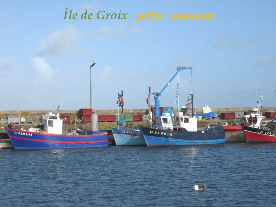 Île de Groix petits caseyeurs