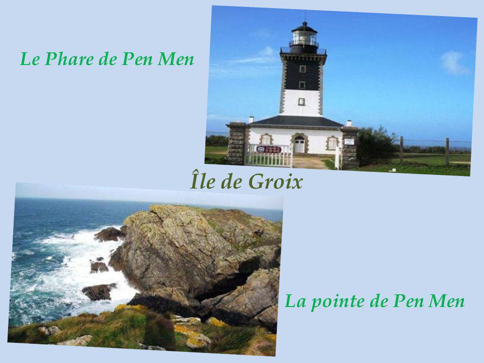 Le Phare de Pen Men Île de Groix La pointe de Pen Men