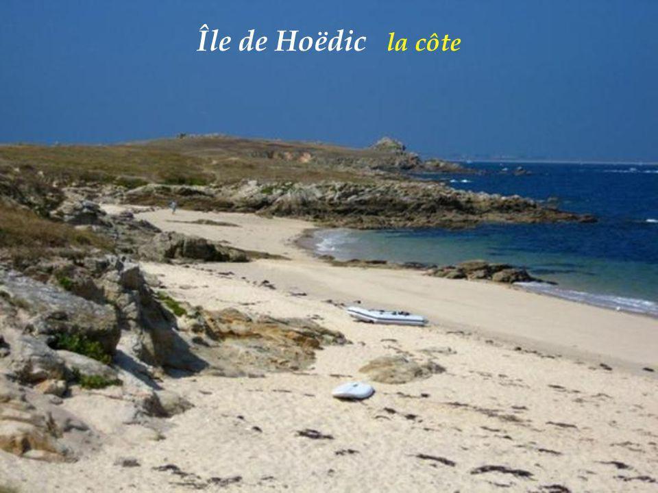 Île de Hoëdic la côte