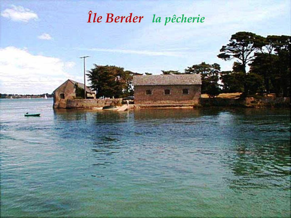 Île Berder la pêcherie